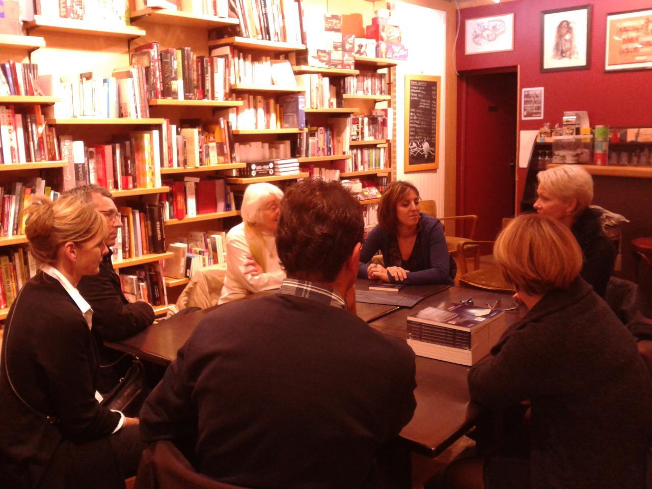 Saint Dizier (52), Librairie Larcelet, novembre 2012