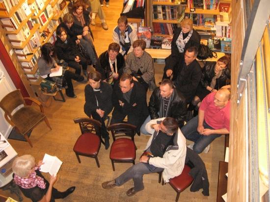 Rencontre à la librairie L'attente l'oubli à Saint-Dizier le 7-11-09