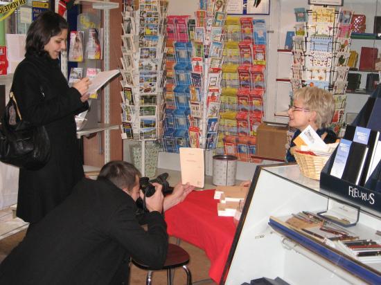 Dédicace à la librairie Mancini NEVERS (58) 30-12-2009
